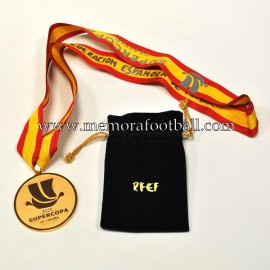 FC BARCELONA 2018 Spanish Super Cup Gold Winner's Medal