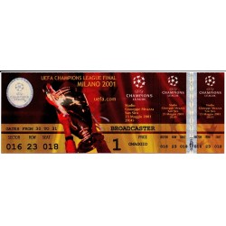 2001 UEFA Champions League...