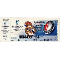 Real Madrid CF v Feyenoord...