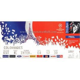 Entrada Final UEFA Champions League 2000
