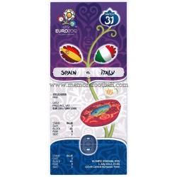 Entrada Final Eurocopa 2012...