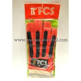 """FCS"" 1970s goalkeeper gloves"