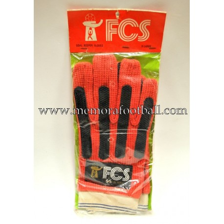 "Guantes de portero ""FCS"" 1970s"