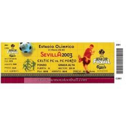 CELTIC FC vs FC PORTO 2003...