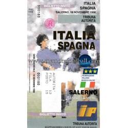 Italy vs Spain 18-11-1998...