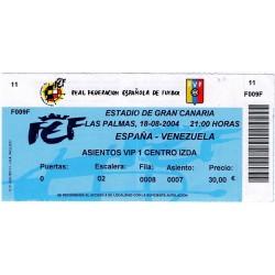 SPAIN vs VENEZUELA...