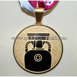UEFA Euro 2012. Gold Winner's Medal Spain