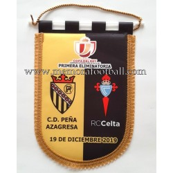 CD PEÑA AZAGRESA v CELTA DE...