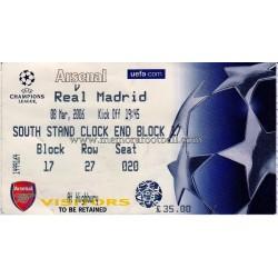 Arsenal vs Real Madrid...