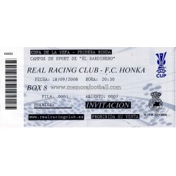 Real Racing Club v FC Honka...