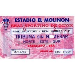 Entrada Sporting de Gijón...