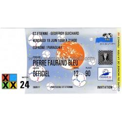 SPAIN v PARAGUAY 19-06-1998...