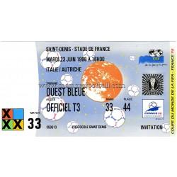 ITALIA v AUSTRIA 23-06-1998...