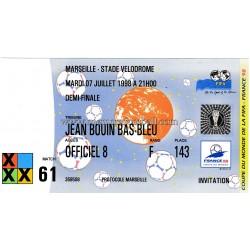 BRAZIL v HOLLAND 1998 FIFA...
