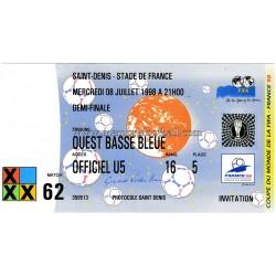 FRANCE v CROATIA 1998 FIFA...