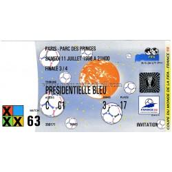 CROATIA v HOLLAND 1998 FIFA...
