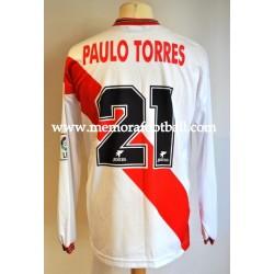 """""""PAULO TORRES"""" Rayo Vallecano 1998-99"""