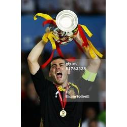 UEFA Euro 2008. Gold Winner's Medal Spain