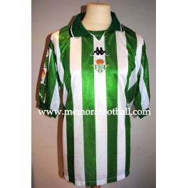 """UREÑA"" Real Betis Balompié 1999/2000 match worn shirt"