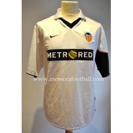 """RUFETE"" Valencia CF Nº19 Trofeo Naranja 2001 vs Peñarol"