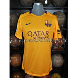 """MESSI"" FC Barcelona LFP 2015-2016 match unworn shirt"