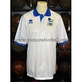 Italia National Team U-20 1993 away match worn shirt