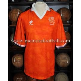 """""""JAN WOUTERS"""" Netherlands National Team 04/12/1991 match worn shirt"""