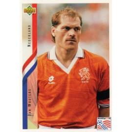 """JAN WOUTERS"" Selección Holandesa 04/12/1991 match worn shirt"