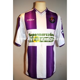 """MARIO"" Real Valladolid 2005/2006 match worn shirt"