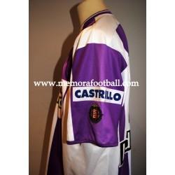 """MARIO"" Real Valladolid 2005/2006 match worn shirt"