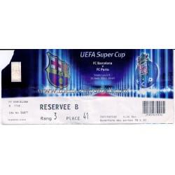 FC Barcelona v FC Porto...