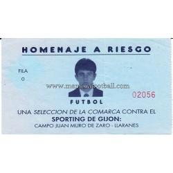 Entrada Homenaje a Riesgo -...