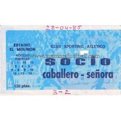 Entrada Sporting  Atlético...