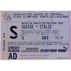 Entrada SUIZA vs ITALIA...