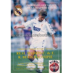 Programa Real Madrid v Real...