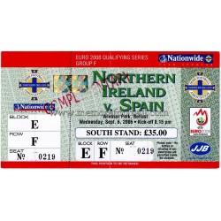 NORTHERN IRELAND vs SPAIN...
