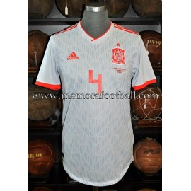 """NACHO"" Spain vs Argentina 27-03-2018 match unworn shirt"