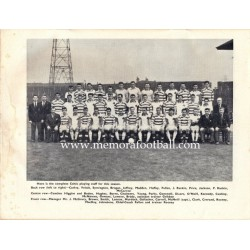 Celtic vs Real Madrid 10/09/1962 programa