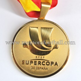 Real Madrid CF 2016-17 Spanish Super Cup Gold Winner's Medal