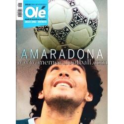 """Diario Olé """"A MARADONA""""..."""