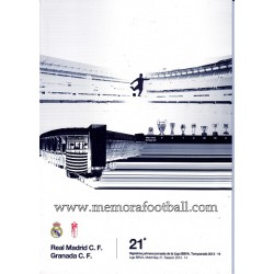 Programa Real Madrid CF vs...