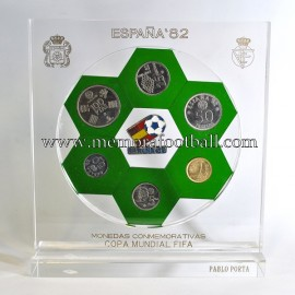 Official commemorative coins 1982 FIFA World Cup Spain