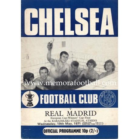 Chelsea vs Real Madrid 1971 Final Recopa de Europa