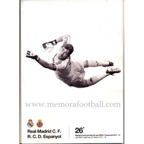 Real Madrid vs Espanyol Spanish League 2011-2012