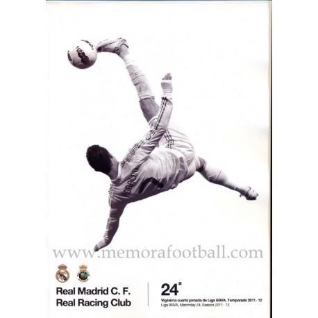 Real Madrid vs Racing Santander Spanish League 2011-2012