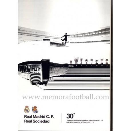 Real Madrid vs Real Sociedad, Spanish League 2011-2012