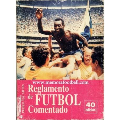 Rules of Football 1993 by Pedro Escartín