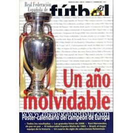 FUTBOL Revista de la RFEF, December 2008
