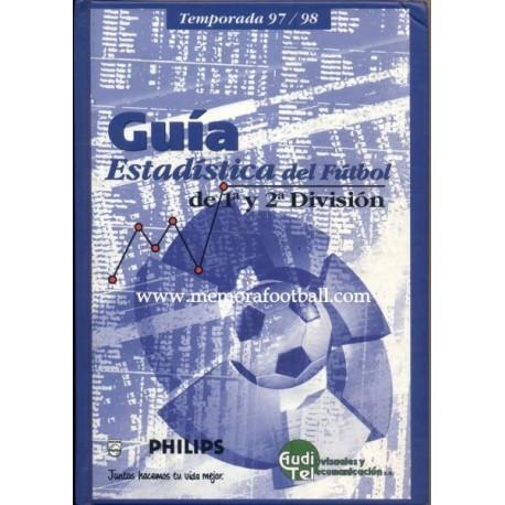 Guía y Estadística del Fútbol Español 1997-98