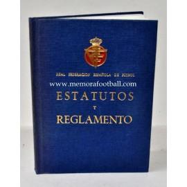 """""""Estatutos y Reglamentos"""" RFEF 1974"""
